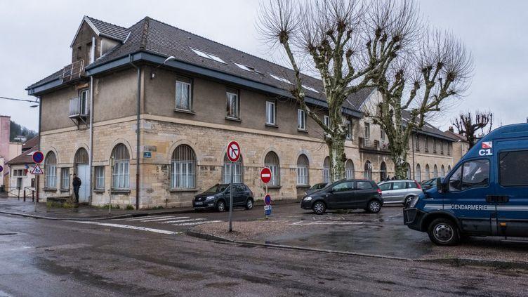 Le tribunal correctionnel de Vesoul (Haute-Saône), le 4 avril 2019. (Jean-François Fernandez / MAXPPP)