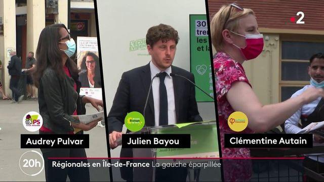 Elections régionales : une gauche divisée et éparpillée en Île-de-France