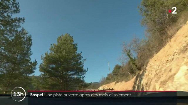 Alpes-Maritimes : Sospel enfin accessible en voiture après 18 mois d'isolement