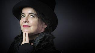 """La romancière Amélie Nothomb publie """"Riquet à la houppe"""" (Albin Michel)  (JOEL SAGET / AFP)"""