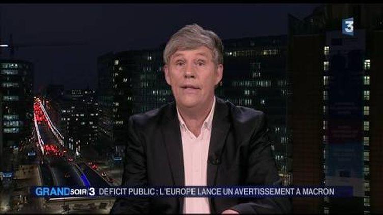 Pascal Verdeau, correspondant de France Télévisions à Bruxelles. (FRANCE 3)