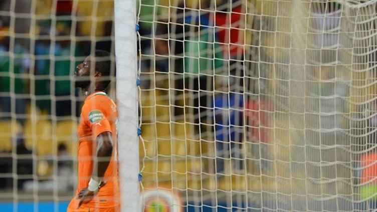 Favoris de la CAN, les Ivoiriens ont échoué en quart de finale. Une désillusion de plus. (BEN STANSALL / AFP)