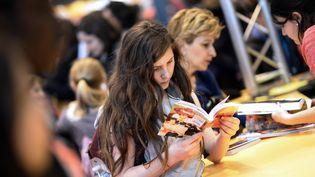 Salon Livre Paris (2014)  (MARTIN BUREAU / AFP)