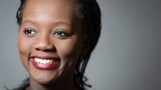 La vice-présidente de l'UDI, Rama Yade, le 29 janvier 2014. (JOEL SAGET / AFP)