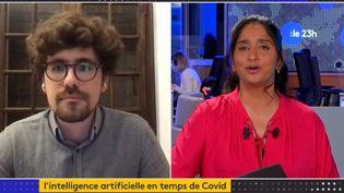 Stéphane d'Ascoli (Capture d'écran franceinfo)