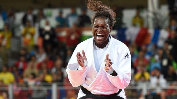 La judokate tricolore Emilie Andeol (PHILIPPE MILLEREAU / DPPI MEDIA)