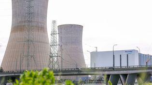 La centrale nucléaire de Tihange, en Belgique, le 4 mai 2015. (JULIEN WARNAND / EPA)