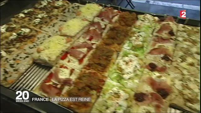 En France, la pizza est reine
