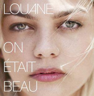 """Louane : pochète de """"On était beau""""  (DR)"""