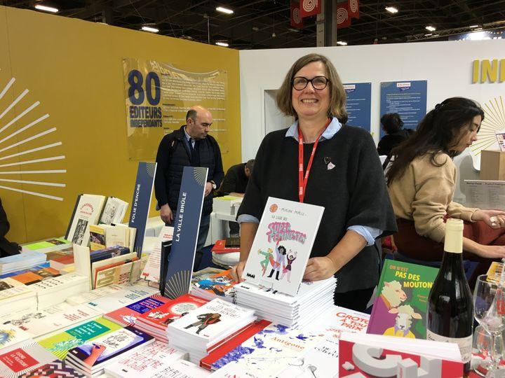 Marianne Zuzula, éditrice responsable de la jeunesse, La ville brûle  (Laurence Houot / Culturebox)