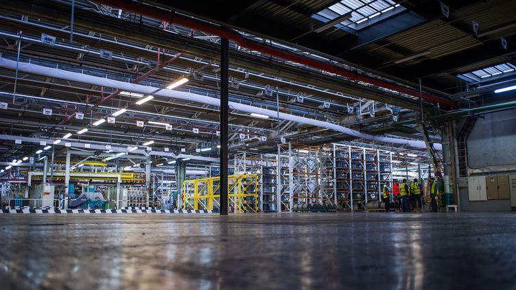 Une usine presque vide. Photo d'illustration. (GUILLAUME SOUVANT / AFP)