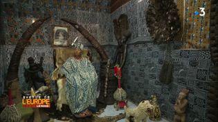 Avenue de l'Europe. Le musée de la Blackitude à Yaoundé, le bébé de la princesse Agnès Fô Nab Ngo Nana (FRANCE 3 / FRANCETV INFO)
