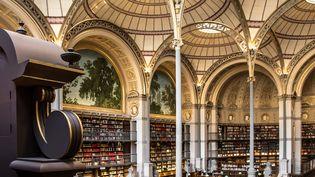 Salla Labrouste de la Bibliothèque de l'INHA. (Laszlo Horvath)