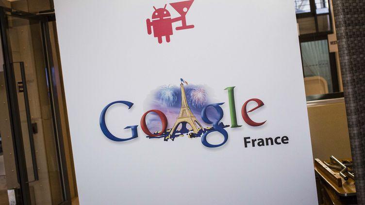 Dans les locaux de Google France, le 10 décembre 2013. (MAXPPP)