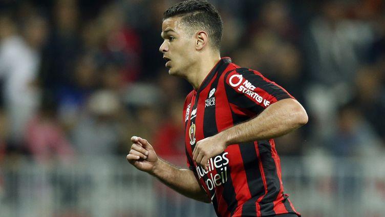 Hatem Ben Arfa a encore marqué de son empreinte la rencontre. (VALERY HACHE / AFP)