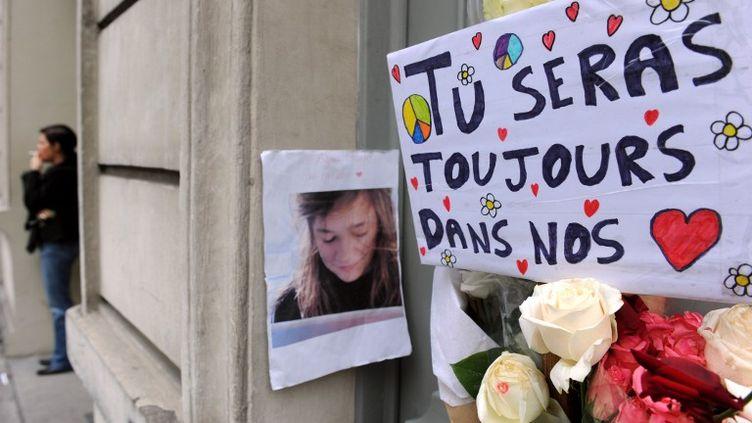 Après le meurtre d'Agnès Marin. (MEHDI FEDOUACH / AFP)