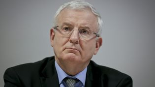 L'ancien préfet d'Ile-de-France Jean Daubigny, à Aubervilliers (Seine-Saint-Denis), le 22 janvier 2015. (MAXPPP)