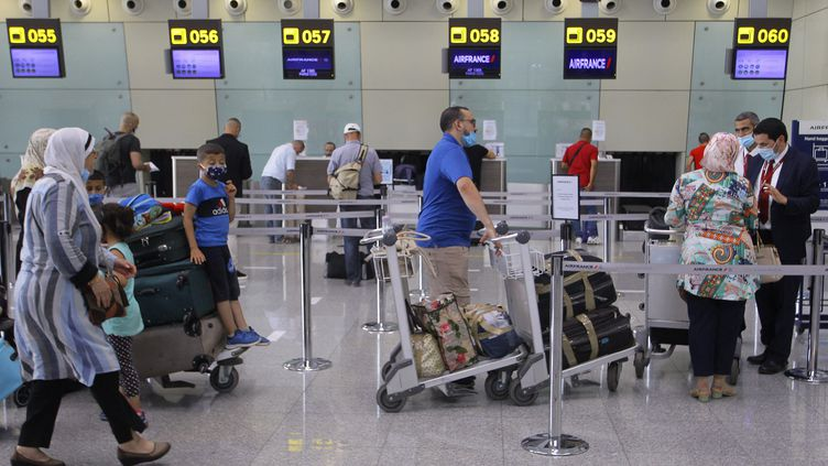 L'aéroport d'Alger (Algérie) le 1er juin 2021. (AFP)