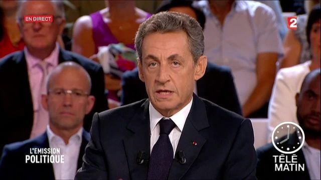 "Nicolas Sarkozy : les temps forts ""L'émission politique"""