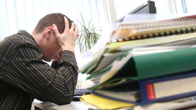 Selon l'étuderéalisée par le cabinet Stimulus entre 2013 et 2017,les femmes (28%) sont plus stressées que les hommes (20%). (MAXPPP)