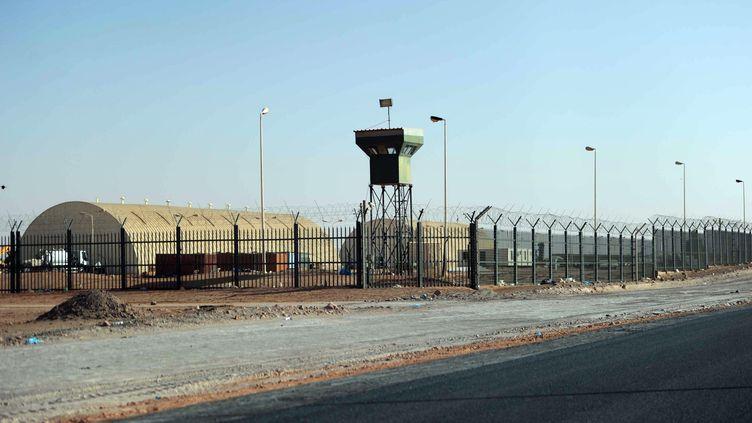 Le site gazier d'In Amenas, dans le Sahara algérien, à plus de 1 300 km d'Alger, le 18 janvier 2013. (FAROUK BATICHE / AFP)