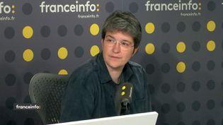 Brigitte Gothière, de l'association L214. (FRANCEINFO / RADIOFRANCE)