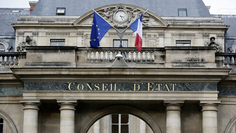 (Le Conseil d'Etat, à Paris © Maxppp)