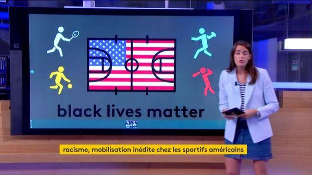 Mobilisation chez les sportifs US