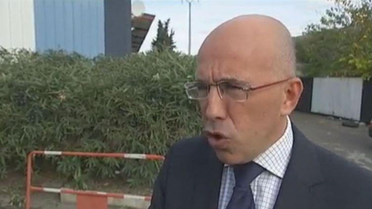 Eric Ciottin, député UMP des Alpes-Maritimes et Secrétaire national du parti en charge de la sécurité, le 21 novembre 2011. (FTVI / FANCE 2 BUREAU DE NICE)