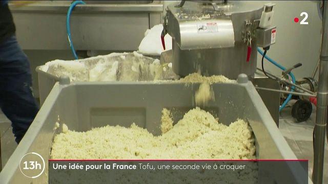 Alimentation : des crackers donnent une seconde vie à la pulpe de tofu