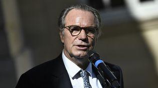 Renaud Muselier, président (Les Républicains) de la région Paca, à Matignon, à Paris, le 30 juillet 2020. (STEPHANE DE SAKUTIN / AFP)
