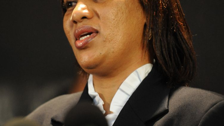 Nafissatou Diallo, en juillet 2011 à New York. (STAN HONDA / AFP)