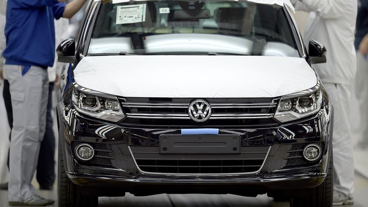 Usine Volkswagen, le 21 octobre 2015. (Photo d'illustration) (AFP)