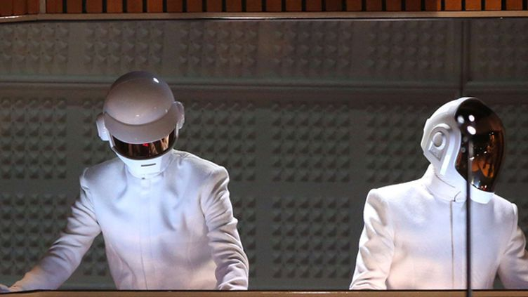 Daft Punk aux Grammy Awards 2014.  (Matt Sayles/AP/SIPA)
