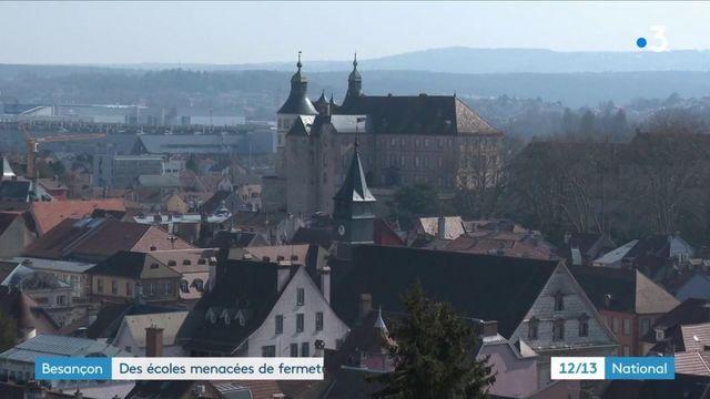 Covid-19 : face à une épidémie virulente, des écoles pourraient fermer à Besançon