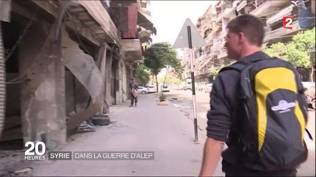 Syrie : dans Alep, un Français a décidé d'aider les populations bombardées