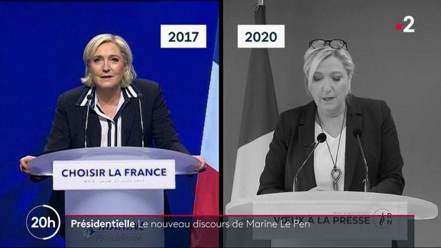 Politique : le nouveau discours de Marine Le Pen, qui entend élargir son électorat