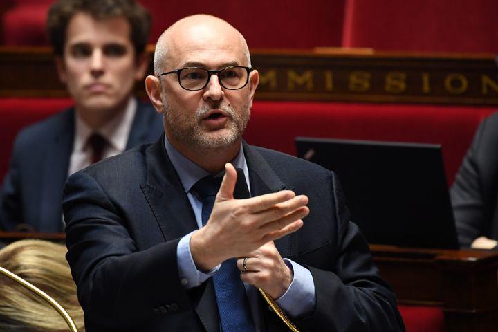 Laurent Pietraszewski est nommé secrétaire d'Etat en chargedes Retraites et de la Santé au travail. (ALAIN JOCARD / AFP)