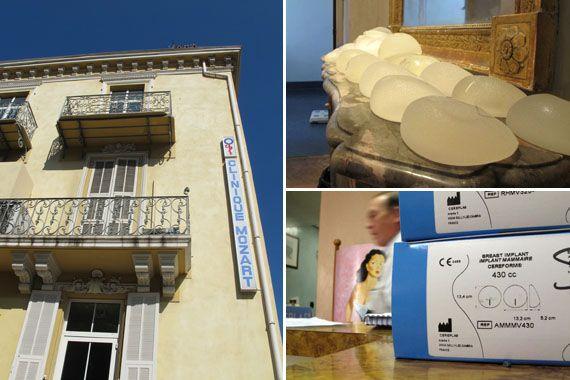 La clinique Mozart à Nice (Alpes-Maritimes), le 27 février 2012. (VIOLAINE JAUSSENT / FTVI)