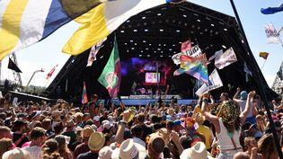 Le festival de Glastonbury, 30 juin 2019 (OLI SCARFF / AFP)