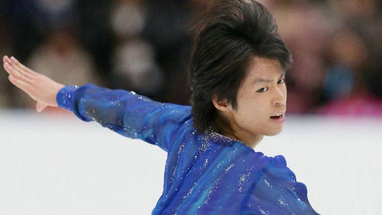 Le patineur japonais Tatsuki Machida