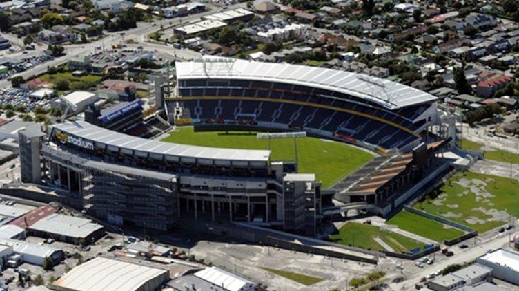 L'AMI Stadium (ex Lancaster Park), le stade de rugby de Christchurch