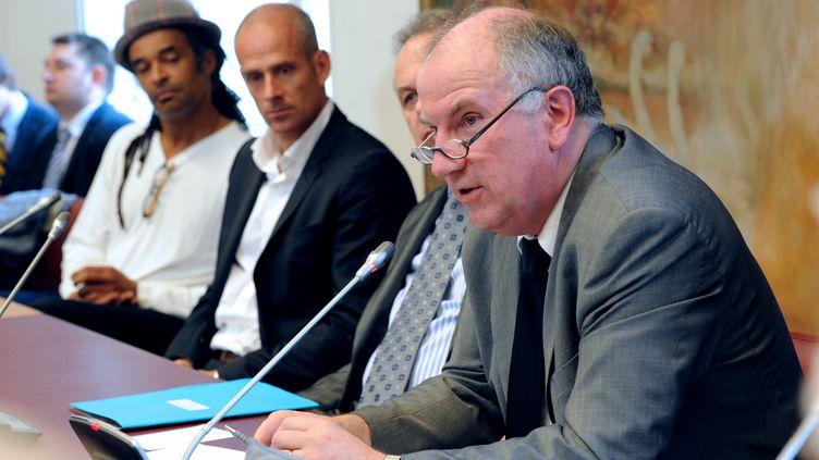 Éric Bocquetau Sénat, le 19 juin 2012. (MEHDI FEDOUACH / AFP)