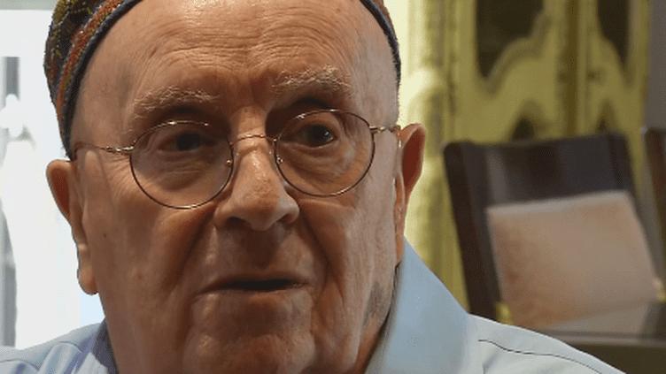 Judah Samet, survivant de l'Holocauste et de Pittsburg (France 24)