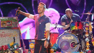 Coldplay à Los Angeles (22 novembre 2015)  (Matt Sayles / AP / SIPA)