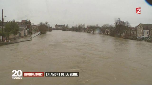 Inondations : retour sur la situation en amont de la Seine