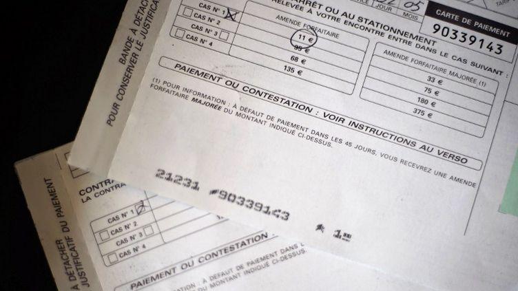 """Le """"M. Contravention"""" du ministère de l'Intérieur, Jean-Jacques Debacq, est soupçonné dene pas avoir payé lui-même les siennes. (JEFF PACHOUD / AFP)"""