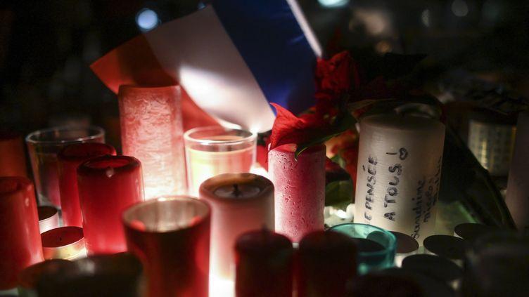 Cinq personnesavaient été tuées et une dizaines blessées dans un attentat sur le marché de Noël de Strasbourg, le 11 décembre 2018. (SEBASTIEN BOZON / AFP)
