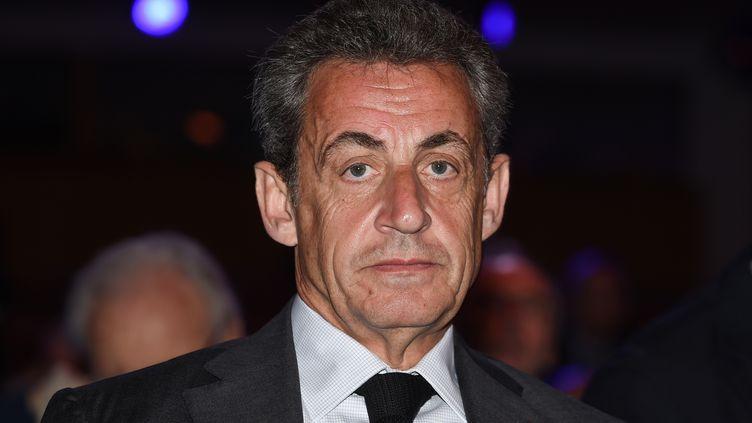 L'ancien président de la République, le 20 avril 2018. (ERIC PIERMONT / AFP)