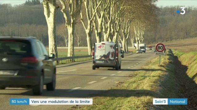 Sécurité routière : la limitation à 80 km/h modulée ?